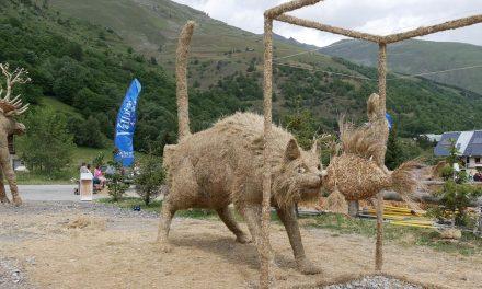 Concours de sculptures sur paille et foin