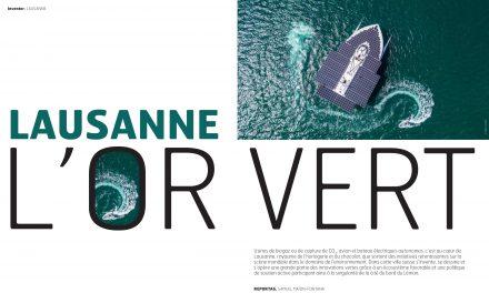Lausanne : l'Or vert